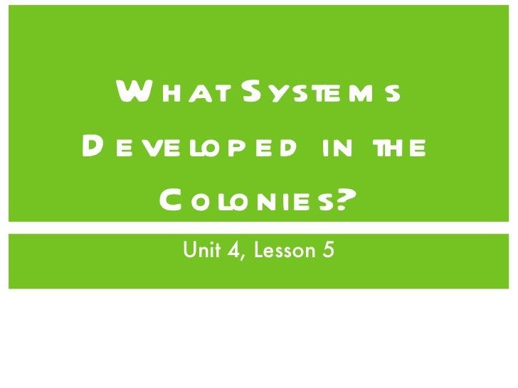 Unit4, Lesson5