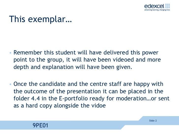 edexcel pe as level coursework
