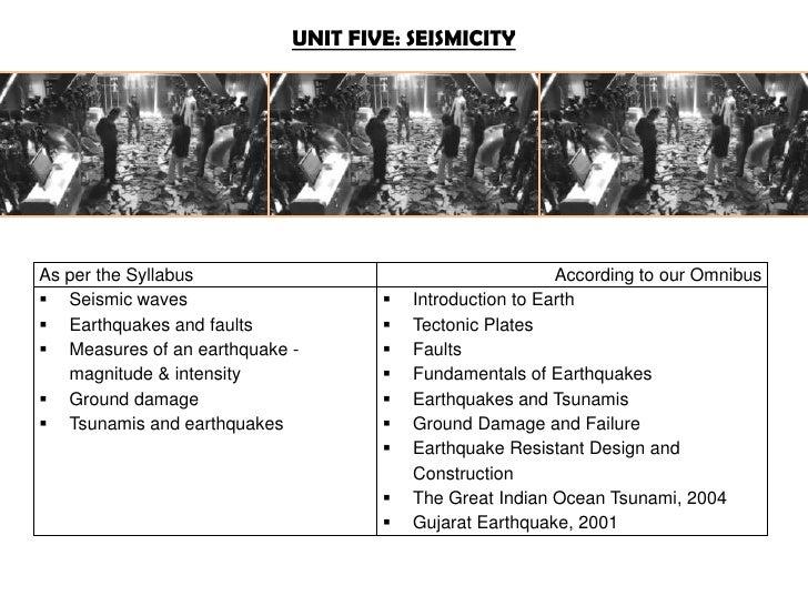 Unit 5 - Disaster Management