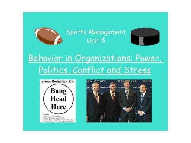 Unit 5  Behavior In Organizations