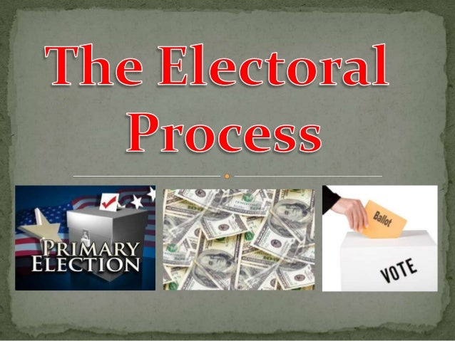  Nomination – the  naming of those who will seek office (5 ways)  The process of candidate selection is a critically imp...