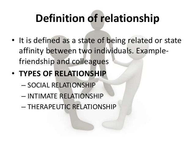 Define a dating relationship