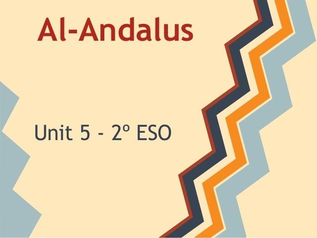 Al-AndalusUnit 5 - 2º ESO
