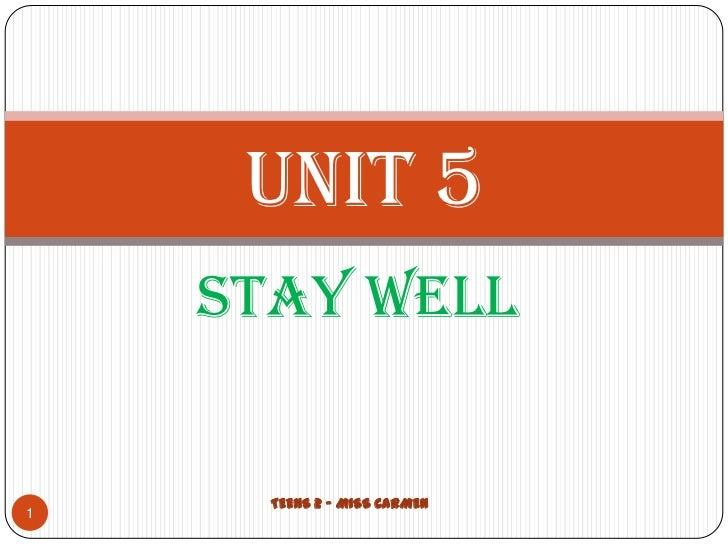 Unit 5 and 6