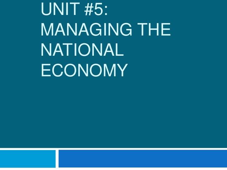 Unit 5 econ student