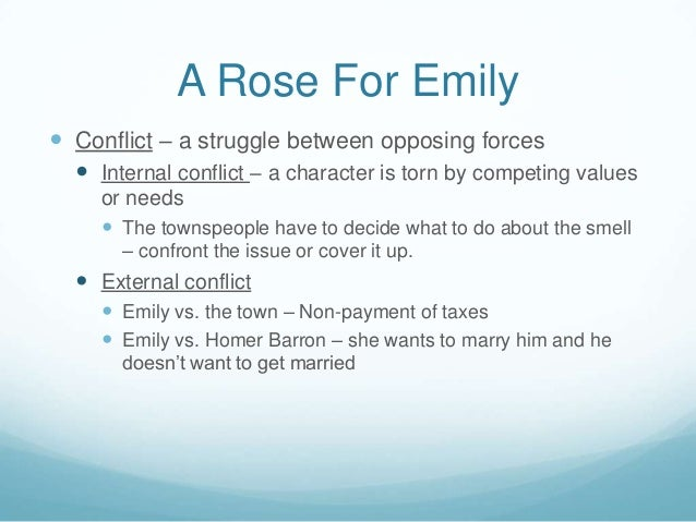 "character analysis of emily rose in In william faulkner's popular story ""a rose for emily"", the character of ms emily grierson often leaves the reader questioning her mental condition as the story unravels the obscurity of ms grierson's mysterious life, we also learn about the significant elements such as the tradition."