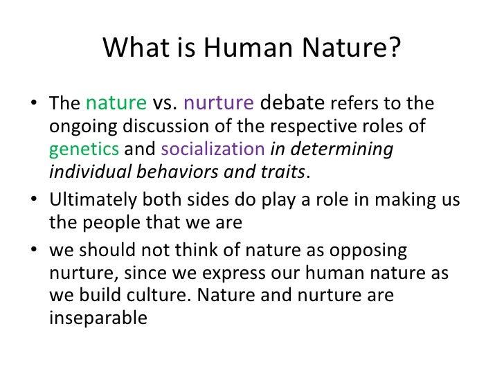 Nature Vs Nurture Study Cases