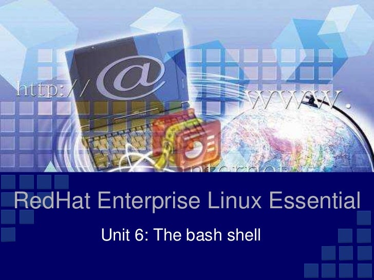 Unit 6 bash shell