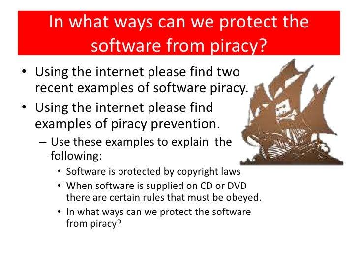exploring software piracy essay