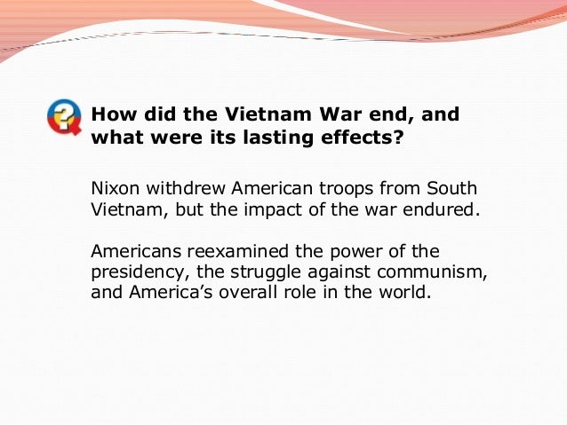 the american citizens opinion and the war in vietnam essay Chris appy's american reckoning: the vietnam war and our national identity is a book-length essay on the vietnam war and how it changed the way americans think of ourselves and our foreign policy.