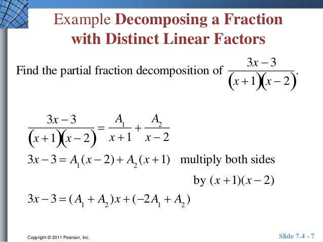 Partial Fraction Problems With Solutions Pdf partial fractions – Partial Fractions Worksheet