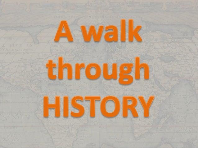 Unit 7   A walk through history