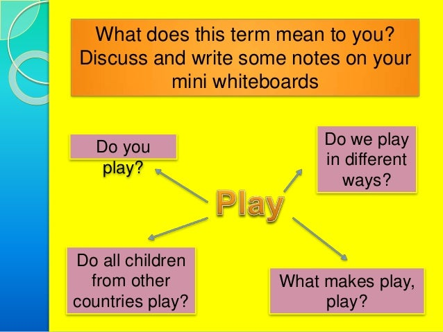 promoting learning and development in the early years essay Promoting children's play, learning and development essay  in 'stage 1' i  believed that play is important for children in the early years and that children  learnt.