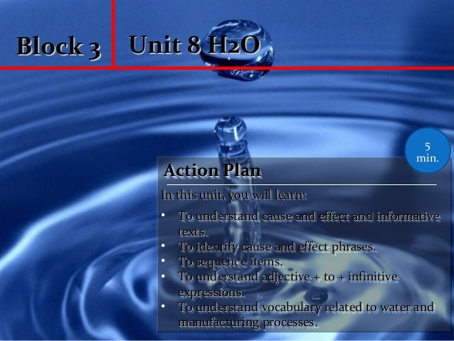 Unit 8 H2O