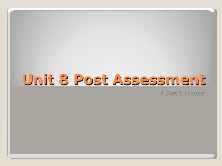 Hemrick Unit 8 post assessmentlive wimba session powerpoint