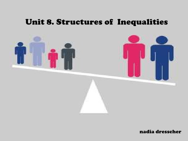 Unit 8 structures of inequality