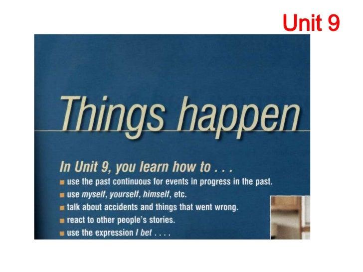 Unit 9  lesson a