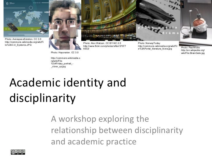 Academic Identity and Disciplinarity