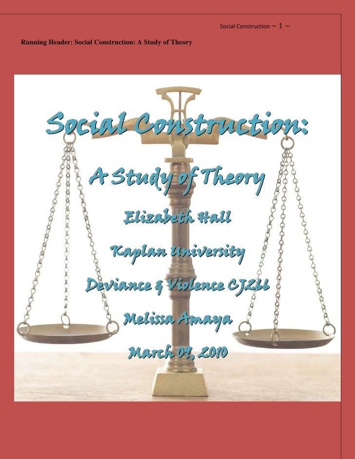 social constructionism essay