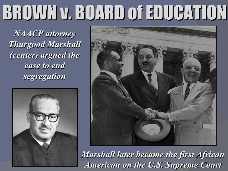 an analysis and a conclusion of the case brown versus board of education Brown vs board of education: here's what happened in 1954 courtroom negro attorney from new york who had argued the case against segregation last december insight and analysis from la times editors.