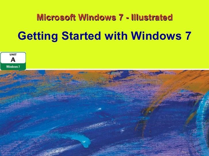 Windows 7 - Unit A