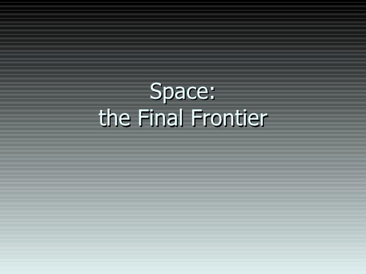Unit D Chapter 9 Space
