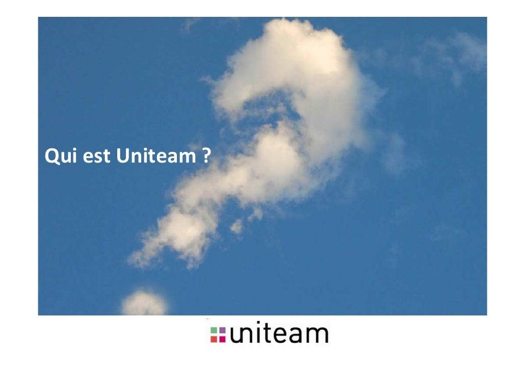 Uniteam Présentation 2010 : marketing relationnel, opérationnel et digital