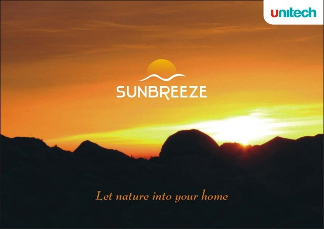 Ar  SUNBREEZE     Let nature into your home