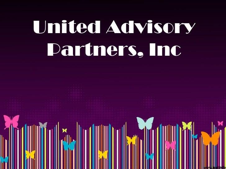 United Advisory Partners, Inc