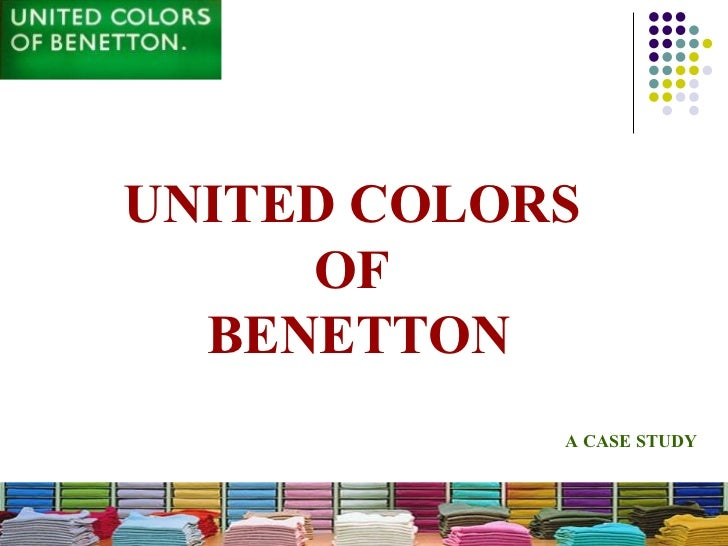 United Colors Of Benetton Presentation