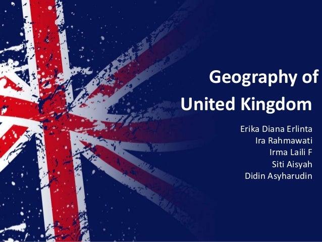 Geography ofUnited Kingdom