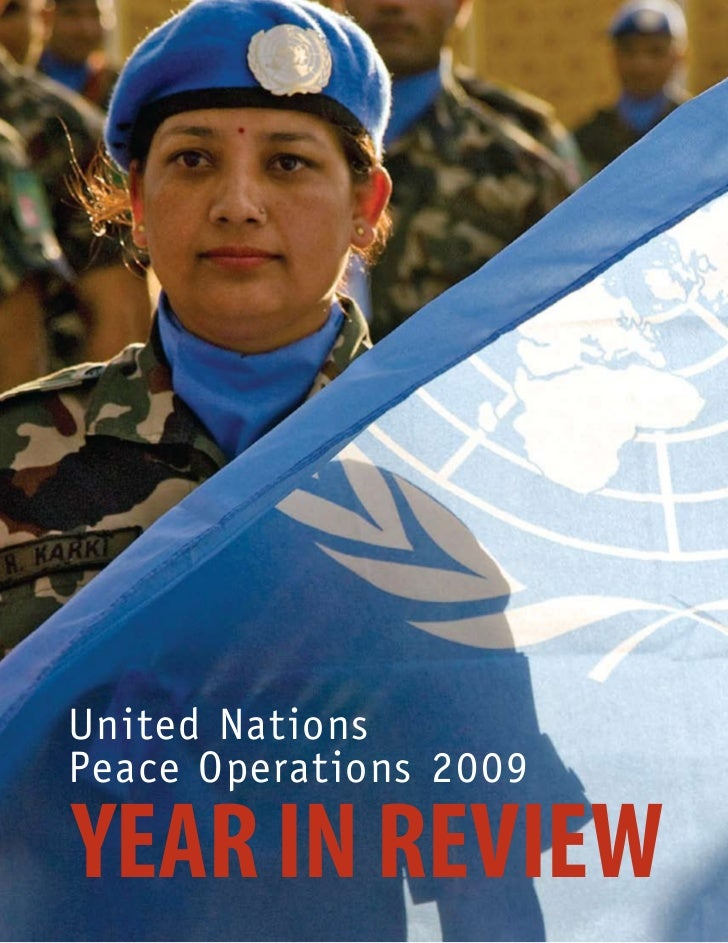 Unitednationspeaceoperations2009inreview 100410191544 Phpapp02