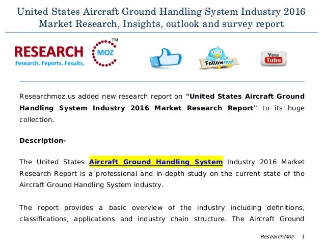 global aerospace ground handling system market International market   in 2016 total operations at all 517 faa and contract  towers rose  association for unmanned vehicle systems international bvlos   cargo nick miller (202) 267-3309 general aviation • forecasts h anna  barlett.