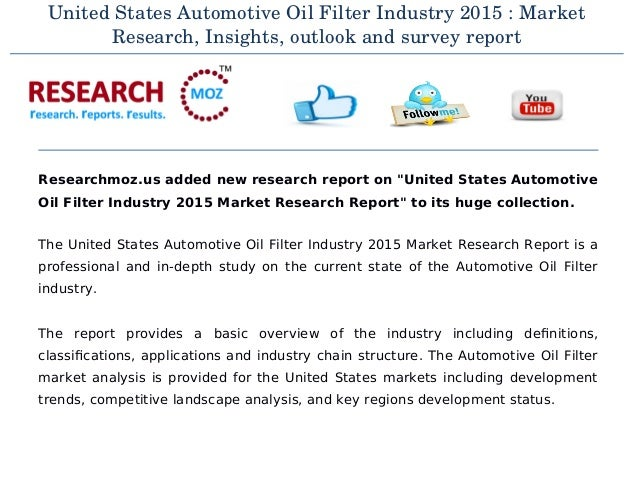 an in depth overview of the automotive industry and competition in the united states An automotive bumper is fitted to either the front or rear-end of a vehicle to absorb the impact of any collision and minimize repair costs persistence market research has conducted an objective, insightful and in-depth analysis of the automotive bumper market in its report 'automotive bumper market: global industry analysis (2012-2016) and forecast (2017-2022).