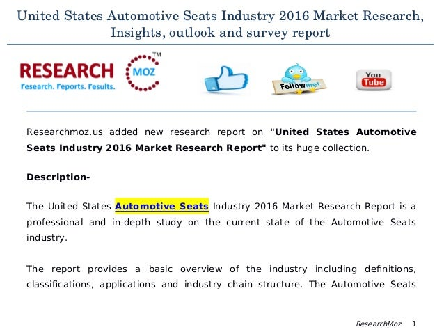 an analysis of the changes in the auto industry in the united states Market share effects of various assumed changes in car prices are analyzed in  order to gain insight into competition among car models and the sensitivity of new .