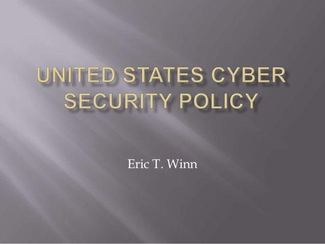 Eric T. Winn