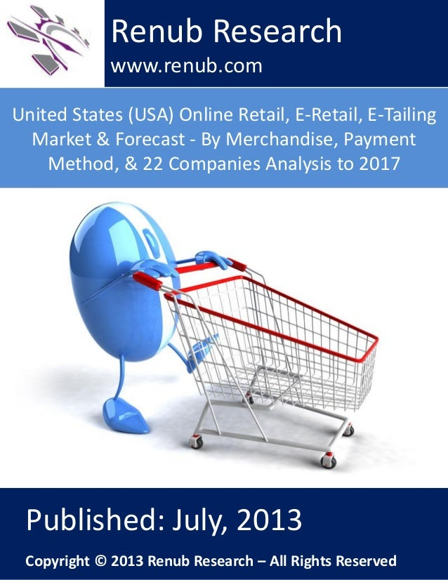 An analysis of the topic of retailing and the selling of the merchandise