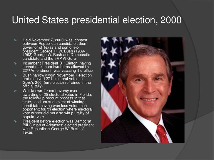 the united states presidential election essay