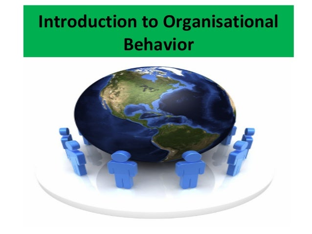 Introduction to Organisational Behavior