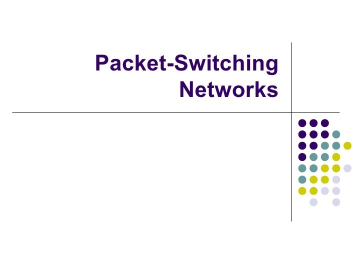 Unit i  packet switching networks