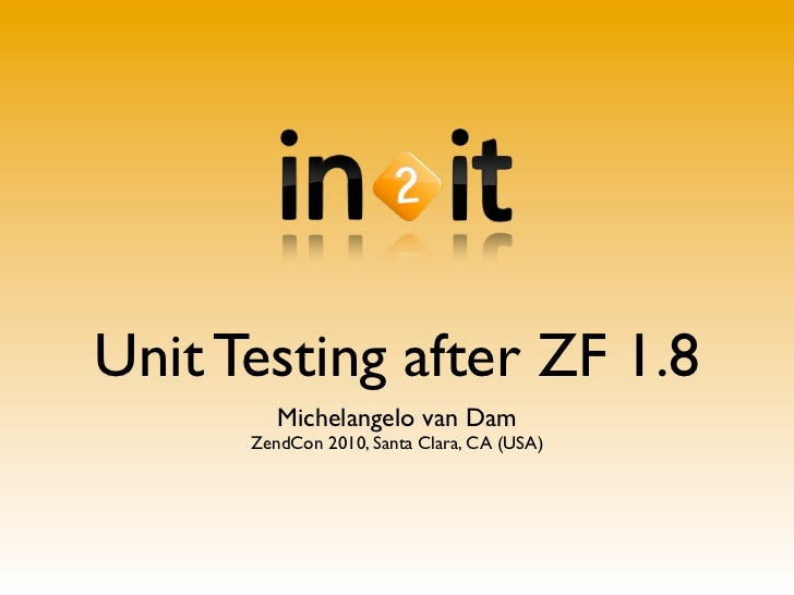 Unit testing after Zend Framework 1.8