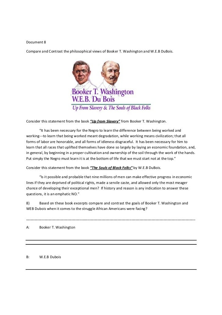 Of Mr Booker T Washington And Others Essay