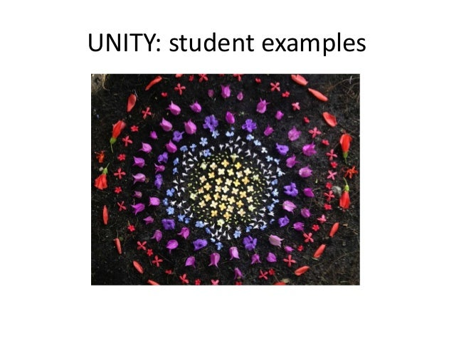 UNITY: student examples