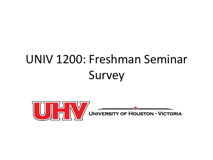 Univ 1200 in class survey