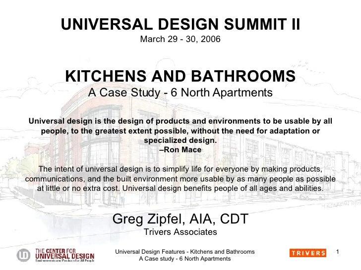 Universal Design -  Kitchens And Baths