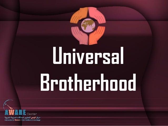 UniversalBrotherhood