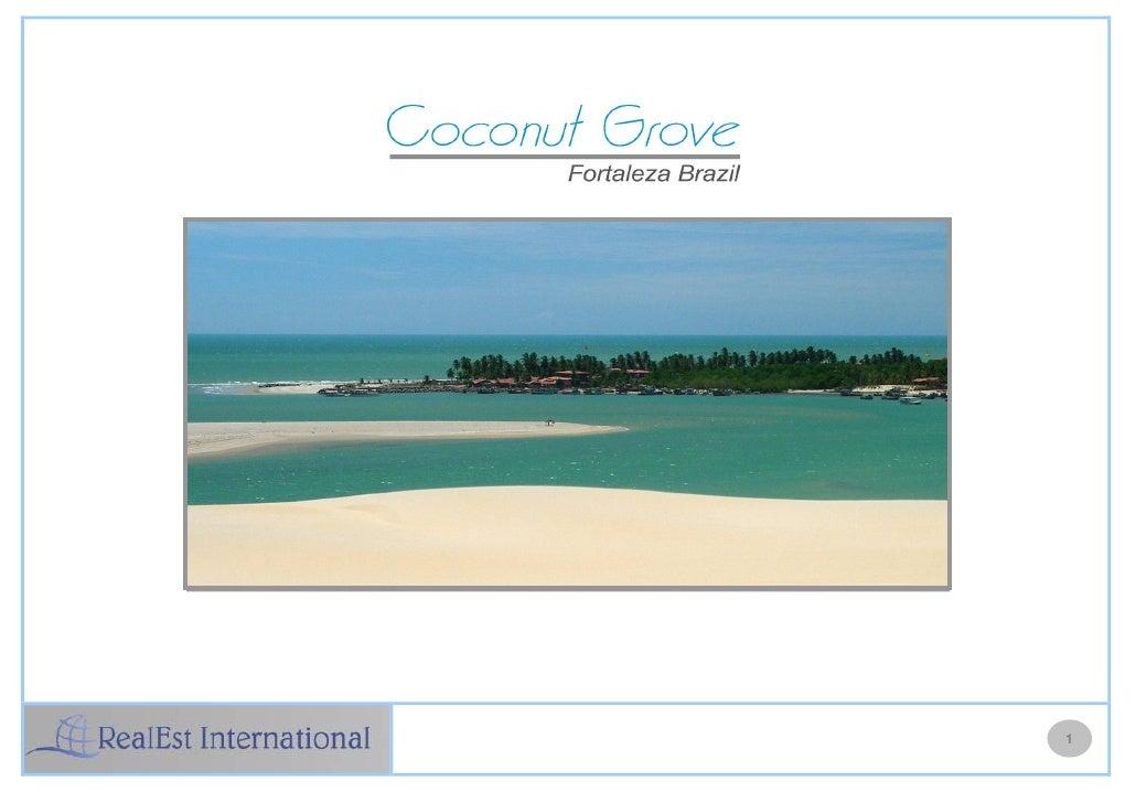 Coconut Grove Resort Brazil Master Presentation
