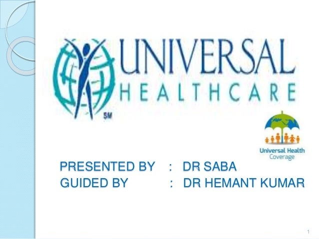 Term papers universal health care
