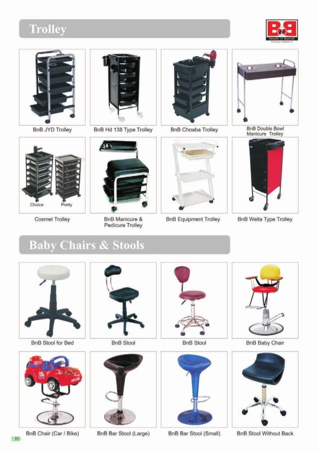 Universal Marketing, New Delhi, Beauty Salon Furniture and Accessories