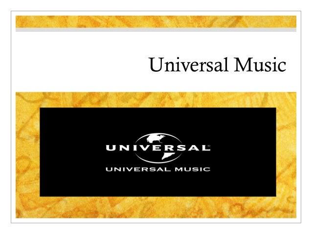 Universal musicpresentation